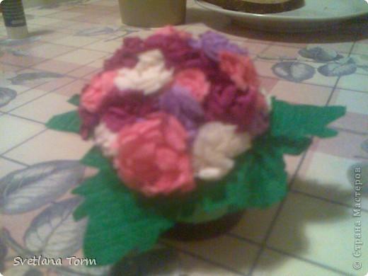 Shar iz mini cvetov.