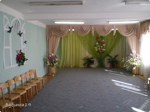 Украшение зала (8 Марта) Детский сад №425 г. Киев фото 1