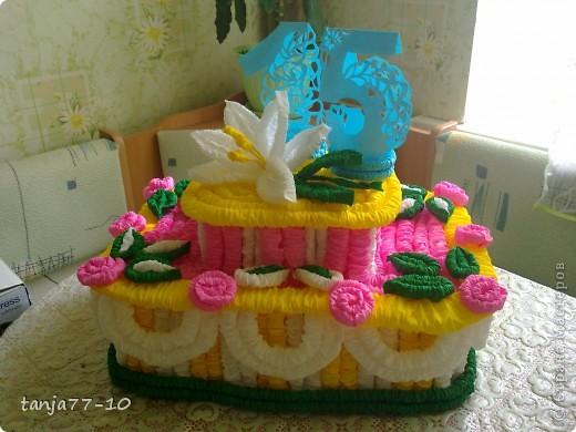 """""""Испекла"""" тортик на юбилей д/с фото 1"""