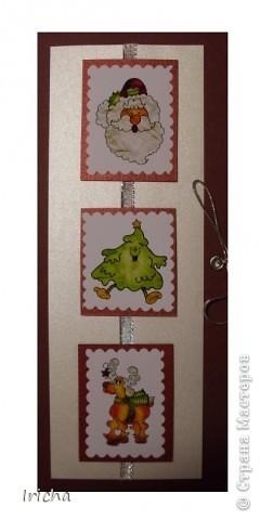 Новогодняя открытка. фото 2