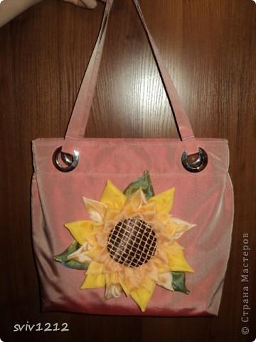 Солнечная -подсолнечная сумка. фото 1