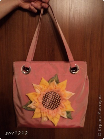 Солнечная -подсолнечная сумка. фото 2
