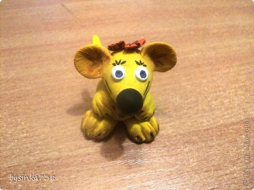 Мышата (из соленого теста) фото 2