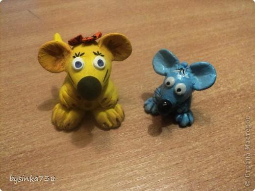 Мышата (из соленого теста) фото 1