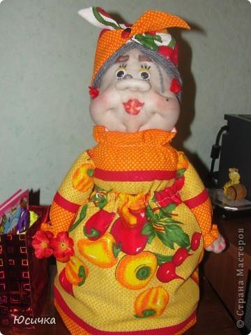 Эта кукла сделана в подарок моей тётушке=)))) фото 1
