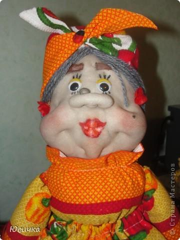 Эта кукла сделана в подарок моей тётушке=)))) фото 2