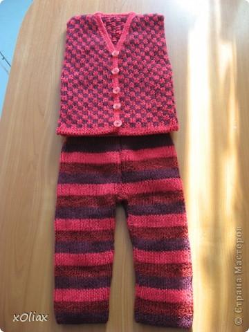 Безрукавка и штанишки фото 3