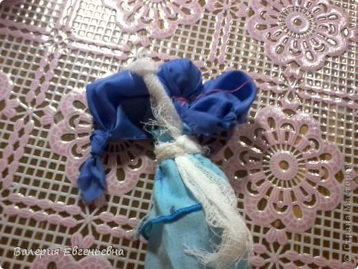 """Давайте сделаем чудесную куклу """"подарок-отдарок"""". Маму, дочку и младенца. фото 9"""