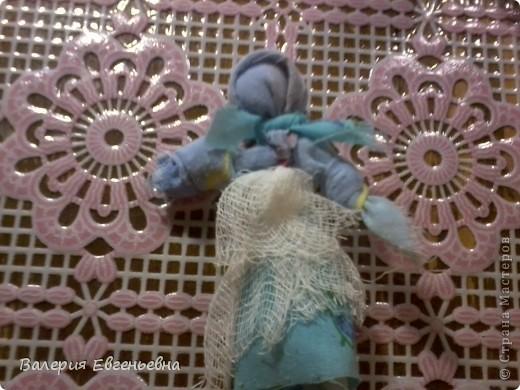 """Давайте сделаем чудесную куклу """"подарок-отдарок"""". Маму, дочку и младенца. фото 12"""
