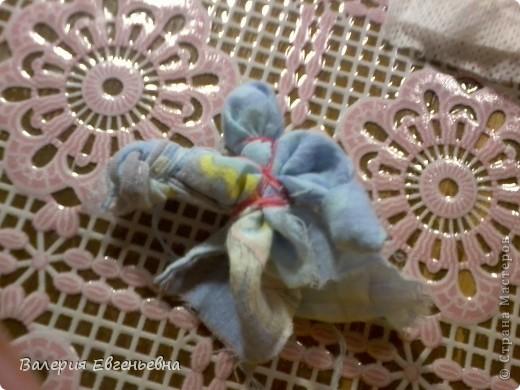 """Давайте сделаем чудесную куклу """"подарок-отдарок"""". Маму, дочку и младенца. фото 13"""