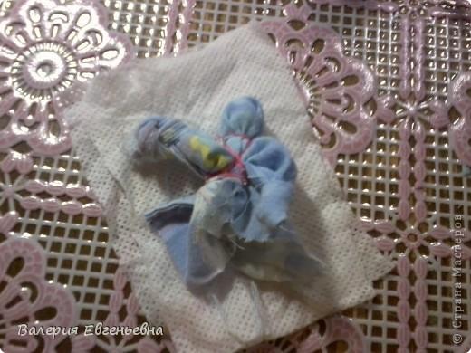 """Давайте сделаем чудесную куклу """"подарок-отдарок"""". Маму, дочку и младенца. фото 15"""