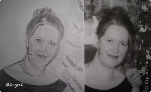 слева портрет справа оригинал