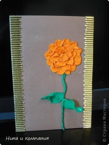 """Приближается 8 марта. Сын готовит подарки, а я немножко помогаю. Эти циннии для воспитателей в детском саду. Идея взята из книги Т. Просняковой """"Цветы"""". Очень замечательная книга! фото 4"""