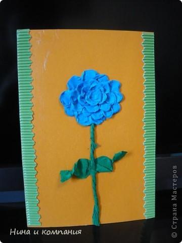 """Приближается 8 марта. Сын готовит подарки, а я немножко помогаю. Эти циннии для воспитателей в детском саду. Идея взята из книги Т. Просняковой """"Цветы"""". Очень замечательная книга! фото 5"""