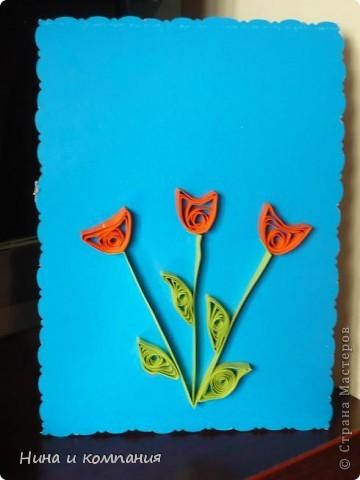 """Приближается 8 марта. Сын готовит подарки, а я немножко помогаю. Эти циннии для воспитателей в детском саду. Идея взята из книги Т. Просняковой """"Цветы"""". Очень замечательная книга! фото 12"""