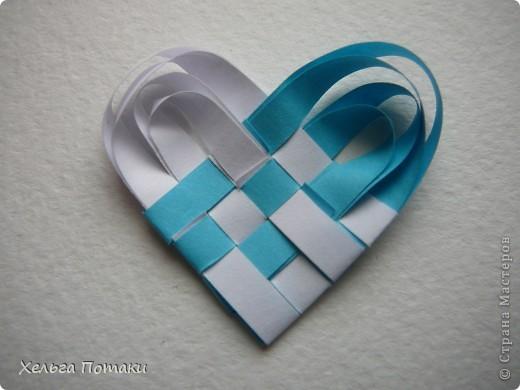 Такое сердечко станет оригинальным дополнением к открытке или подарочной упоковке фото 12