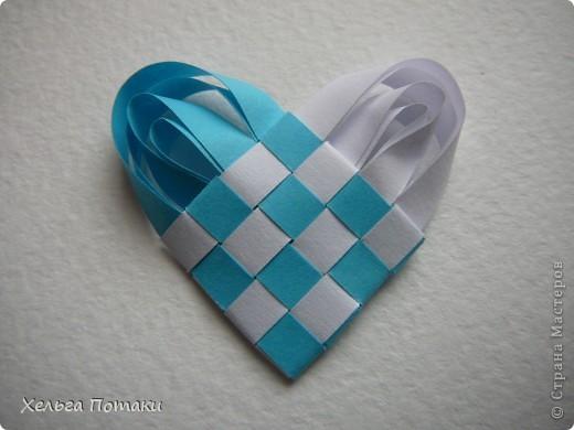 Такое сердечко станет оригинальным дополнением к открытке или подарочной упоковке фото 13