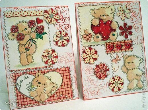 Незатейливые, но очень красочные открытки в подарок педагогам к наступающему весеннему празднику. фото 2