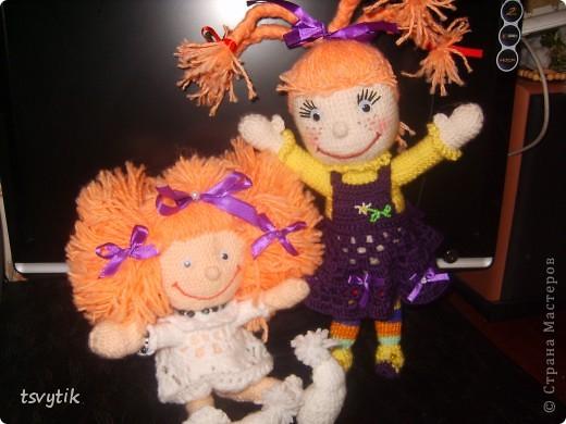 Виолка кукла к Дню Святого Валентина! фото 2