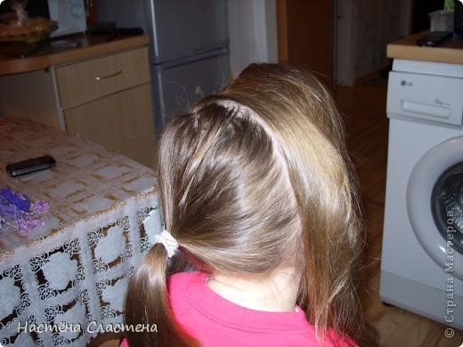 делим волосы пробором от уха до уха... фото 1