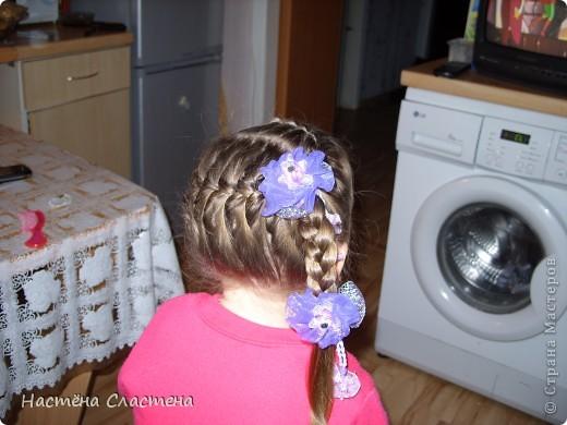 делим волосы пробором от уха до уха... фото 6