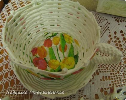 """""""Подсолнечная"""" чашка фото 17"""