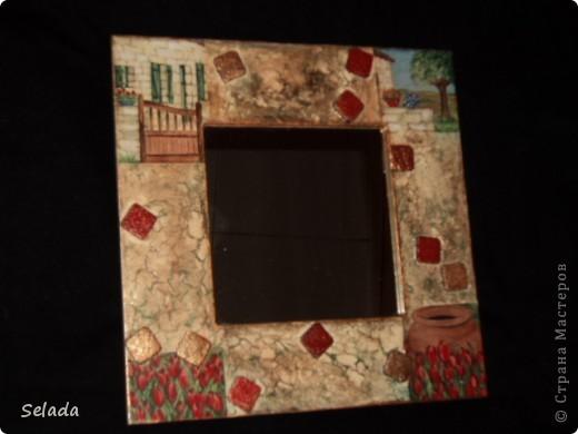"""Задумала создать подарочную серию зеркал (благо, праздник """"на носу""""). Хотелось, чтобы подарки не повторялись, и чтобы каждое зеркало нашло свою хозяйку по стилю, по характеру. фото 1"""
