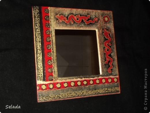 """Задумала создать подарочную серию зеркал (благо, праздник """"на носу""""). Хотелось, чтобы подарки не повторялись, и чтобы каждое зеркало нашло свою хозяйку по стилю, по характеру. фото 2"""