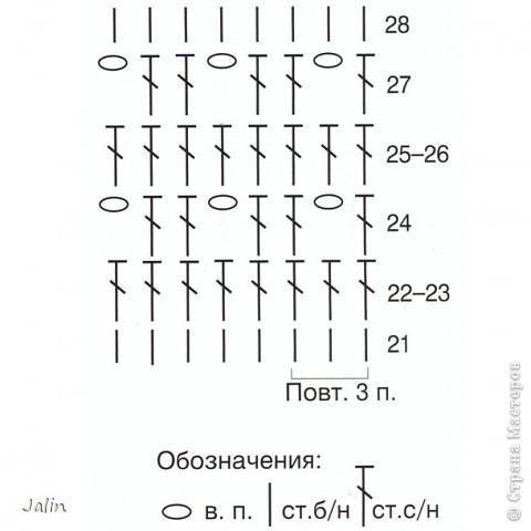 Гардероб Вязание крючком Яркая