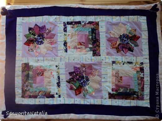 Одеялко детское (в жизни намного ярче! По периметру ярко фиолетовая ткань) фото 1