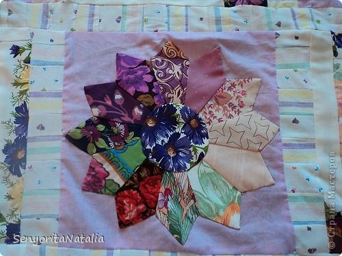 Одеялко детское (в жизни намного ярче! По периметру ярко фиолетовая ткань) фото 2
