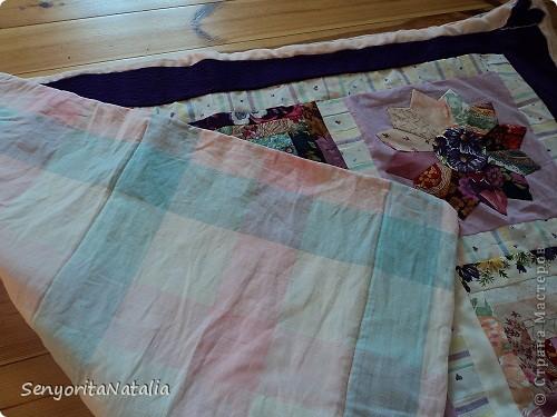 Одеялко детское (в жизни намного ярче! По периметру ярко фиолетовая ткань) фото 4