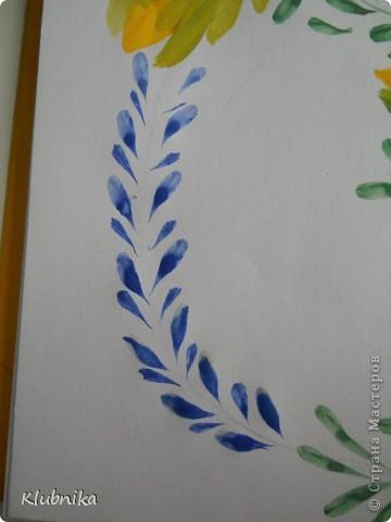МК по петриковской росписи 2 фото 14