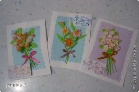 Сделала открытки воспитателям Сони в садик. фото 7