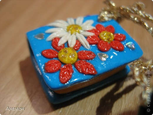 Брелок-блокнот(подарок для дочи) фото 1
