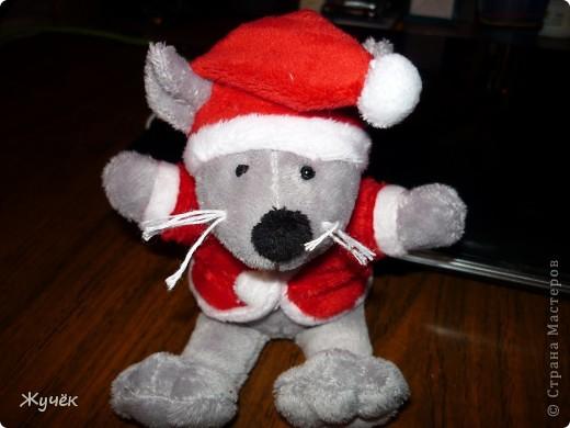 Мышка племяннице на Новый год!! фото 1
