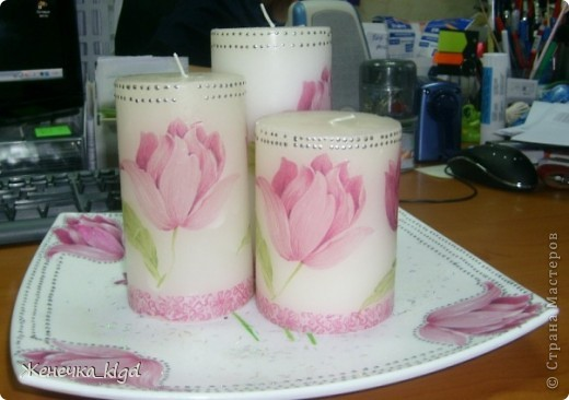 Набор свечек фото 5