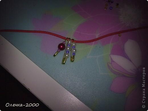 Вот как выглядит мой браслет. Идею взяла из журнала. фото 4