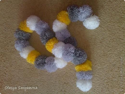 Пумпончатый шарфик )) фото 1