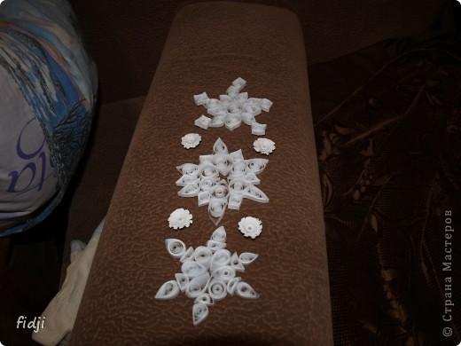 снежный квиллинг фото 2