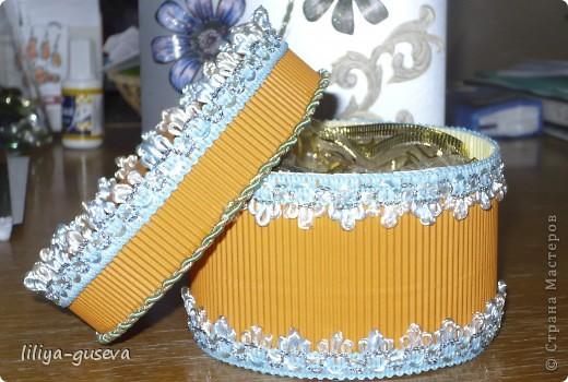 Эту коробочку я сделала для своей учительницы Ольге Александровне. фото 2