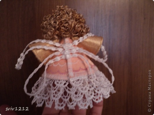 Куколка ангелочек фото 5