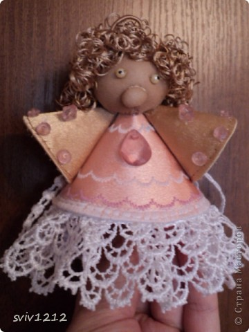 Куколка ангелочек фото 1