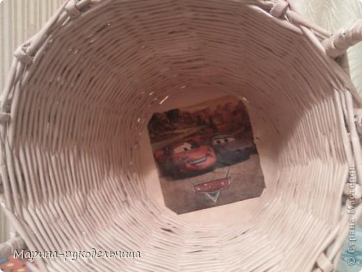 Давно сплела корзину для игрушек, вот представляю вашему вниманию фото 2