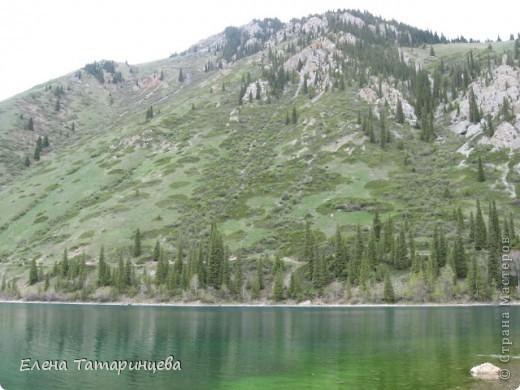 Представляю вам горное озеро Кольсай, которое находится примерно в 400 км от г. Алматы. фото 7