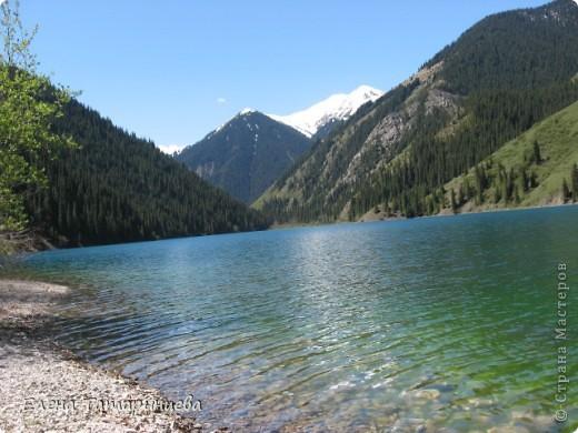 Представляю вам горное озеро Кольсай, которое находится примерно в 400 км от г. Алматы. фото 2