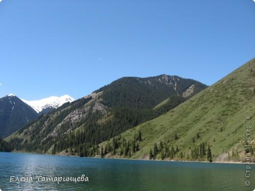 Представляю вам горное озеро Кольсай, которое находится примерно в 400 км от г. Алматы. фото 3