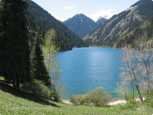 Представляю вам горное озеро Кольсай, которое находится примерно в 400 км от г. Алматы. фото 4