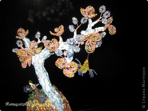 Деревце с павлином фото 1