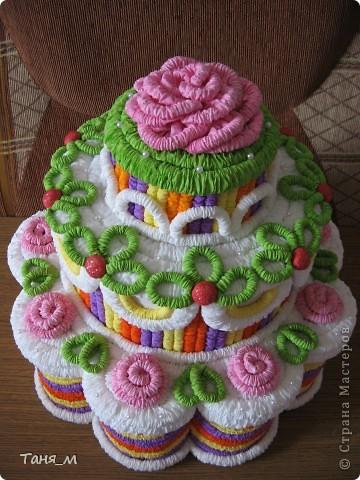 Торт на 8 марта. фото 1